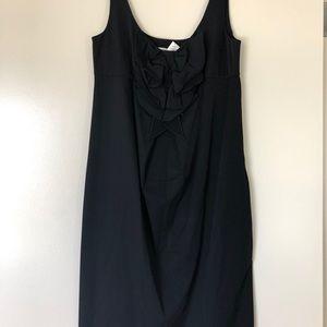 DVF little black dress